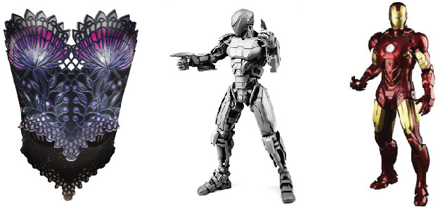 Do you know Robocop & Ironman suit was 3D printed? Image credits to Legacy Effects.